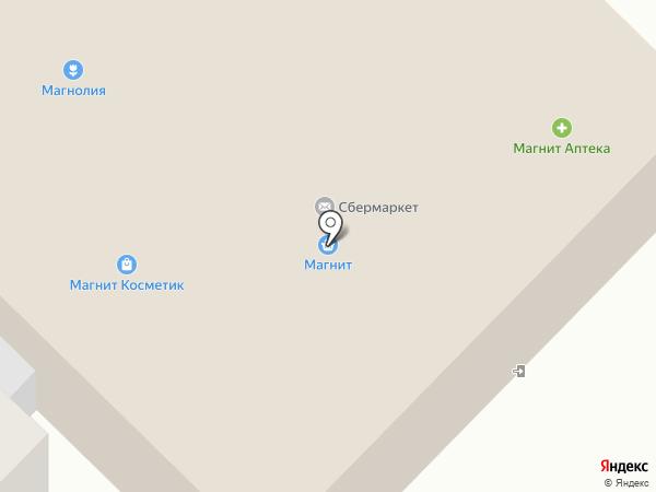 Магнит на карте Апрелевки