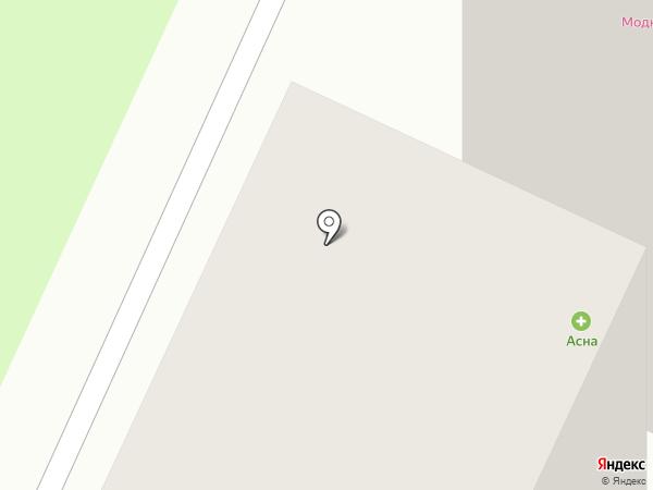 Магна-Фарм на карте Апрелевки
