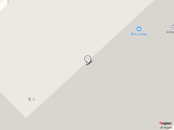 Участковый пункт полиции на карте Апрелевки