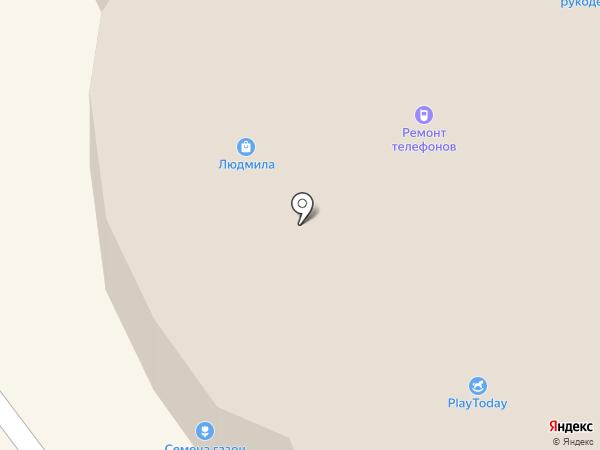 Белым-Бело на карте Апрелевки