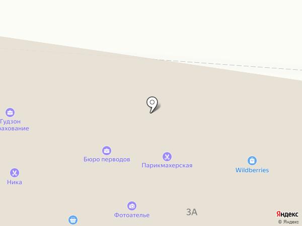 Ирис на карте Павловской Слободы