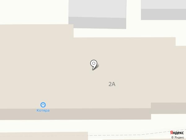 Котяра на карте Жаворонков