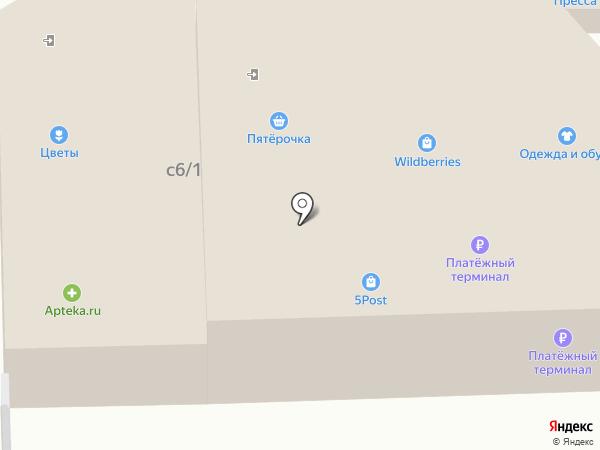 Продуктовый магазин на карте Жаворонков