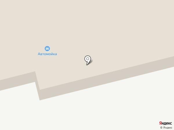 Автомойка на ул. Курочкина на карте Дедовска