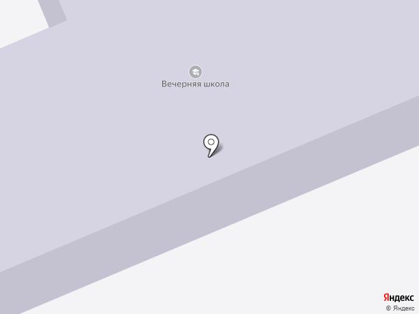 Дедовская вечерняя (сменная) общеобразовательная школа на карте Дедовска