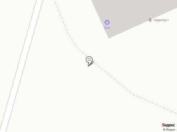 Эль на карте Дедовска