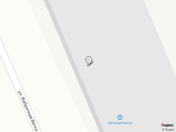 Автомойка на ул. Фабричная Ветка на карте Дедовска