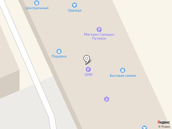 Центральный на карте Дедовска