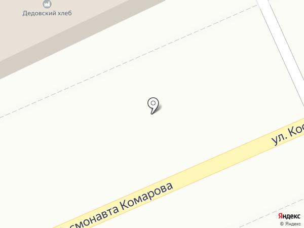 Дедовский хлеб на карте Дедовска