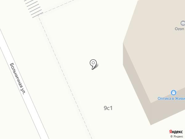 Живика на карте Дедовска