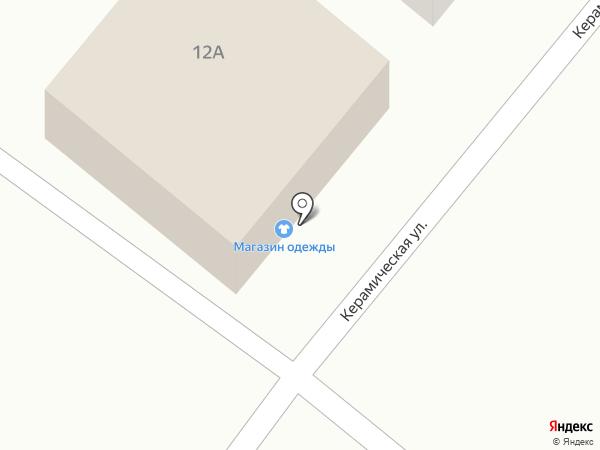 Магазин одежды и обуви на карте Дедовска