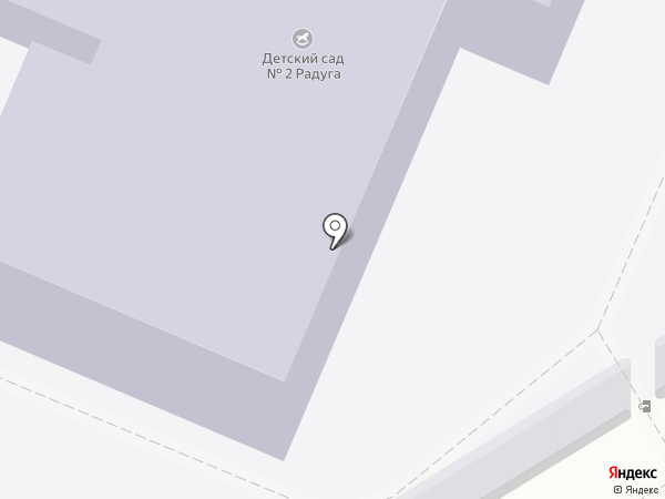 Детский сад №2, Радуга на карте Дедовска