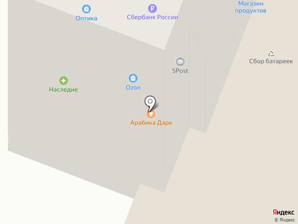Технорадуга на карте Дедовска