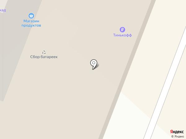 Избёнка на карте Дедовска