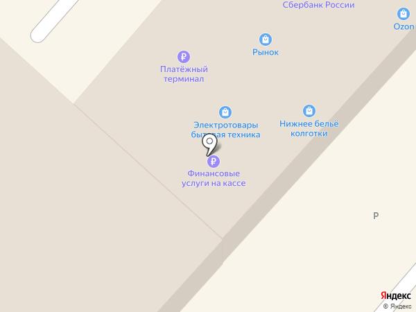 Магазин постельного белья и ковров на карте Дедовска