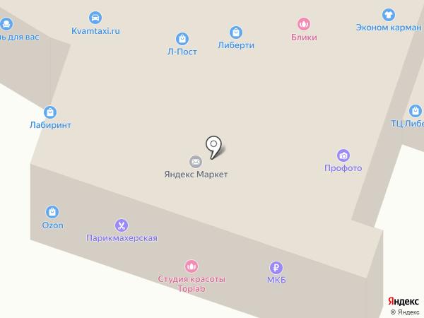 Империя Сити на карте Дедовска