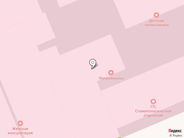 Андреевская городская поликлиника на карте Андреевки