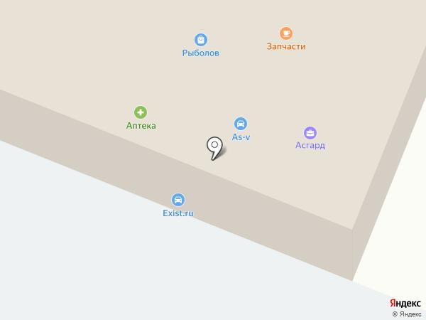 Прораб на карте Дедовска