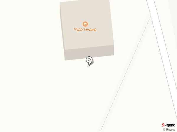 Нантон на карте Андреевки