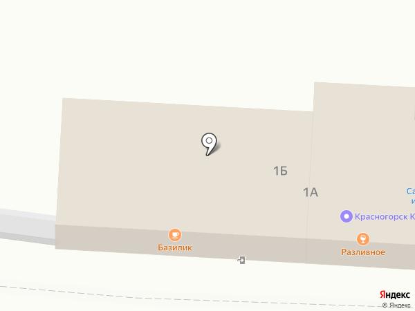 Магазин цветов на карте Нахабино
