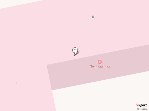 Поликлиника на карте Нахабино