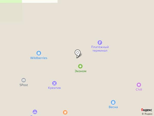 Алладин на карте Москвы