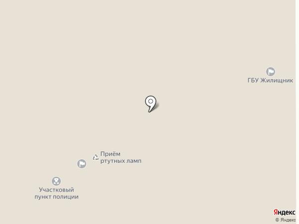 Жилищник района Крюково на карте Москвы