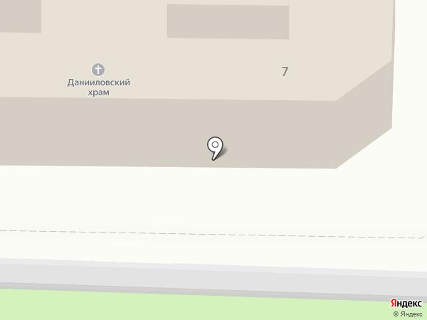 Храм благоверного князя Даниила Московского на карте Нахабино