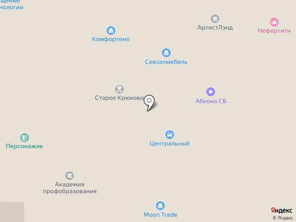 Штос на карте Москвы