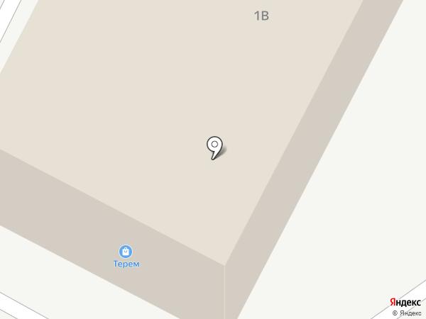 Терем на карте Нахабино