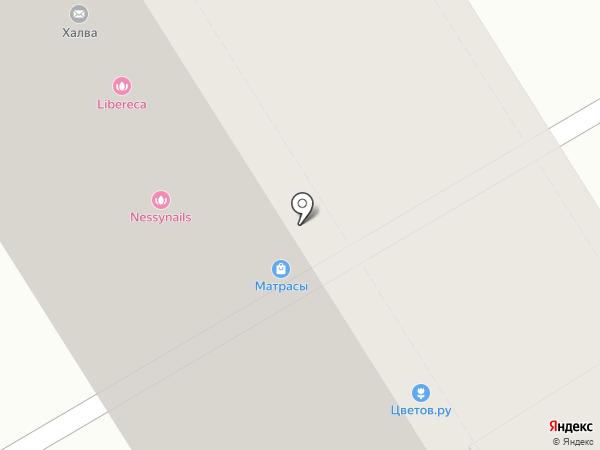 Магазин отделочных материалов на карте Москвы