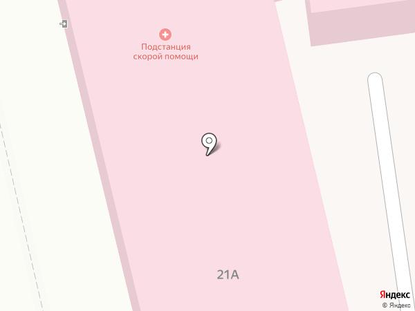 Скорая медицинская помощь на карте Нахабино