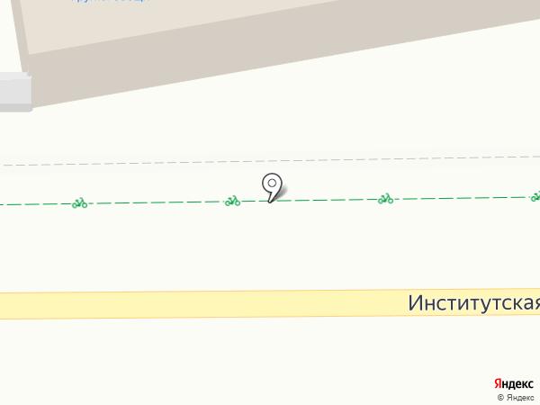 Магазин хлебобулочных изделий на карте Нахабино
