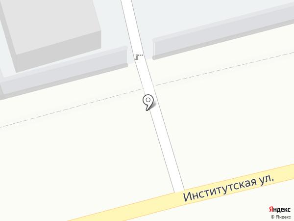 Автостоянка на карте Нахабино