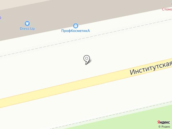 Избёнка на карте Нахабино