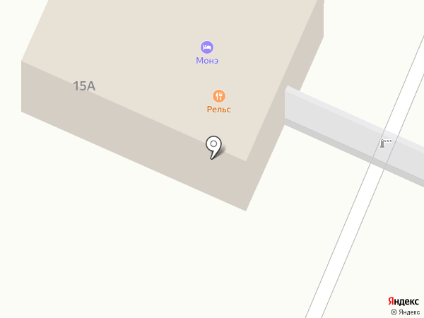 Тепломагистраль на карте Нахабино