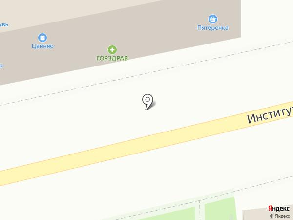 Останкино на карте Нахабино