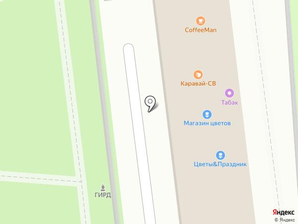 Каравай СВ на карте Нахабино