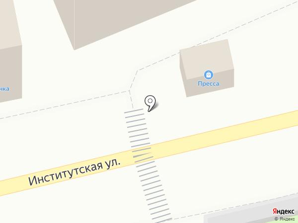 Киоск печатной продукции на карте Нахабино