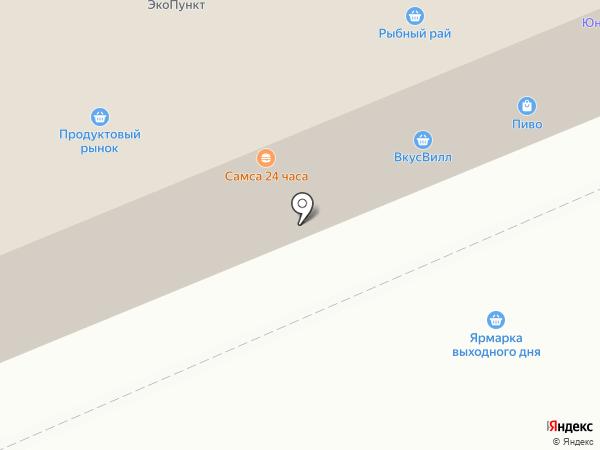 Нахабино на карте Нахабино
