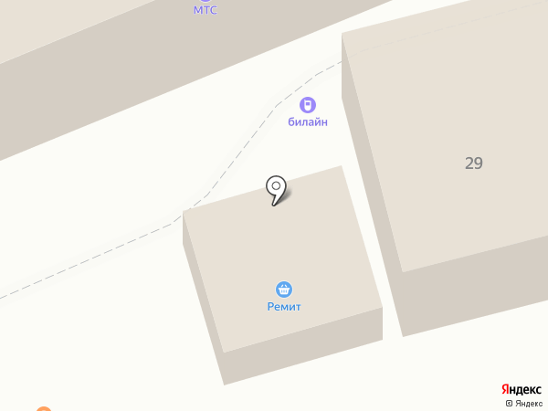 Старый Лекарь на карте Нахабино