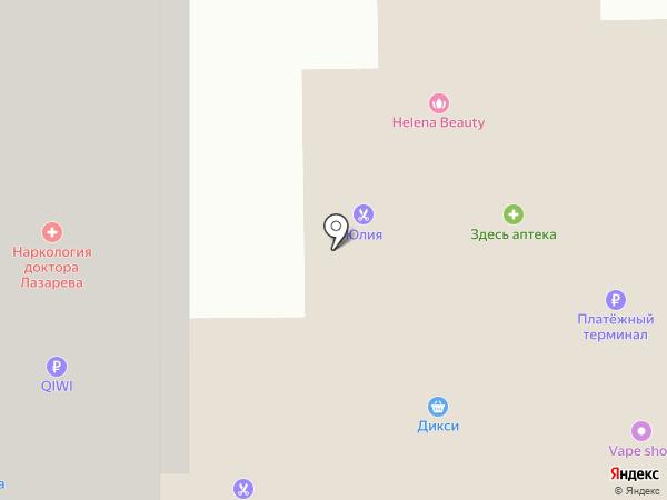 Угол на карте Нахабино