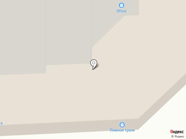 Квинт на карте Нахабино
