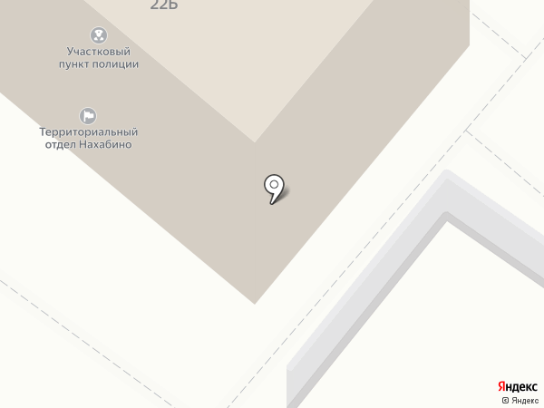 Администрация городского поселения Нахабино на карте Нахабино