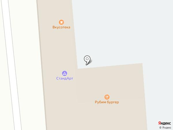 Арт изба на карте Петрово-Дальнего