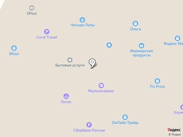 Променад на карте Москвы
