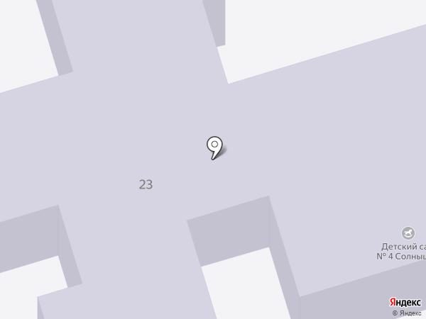 Детский сад №4 на карте Власихи