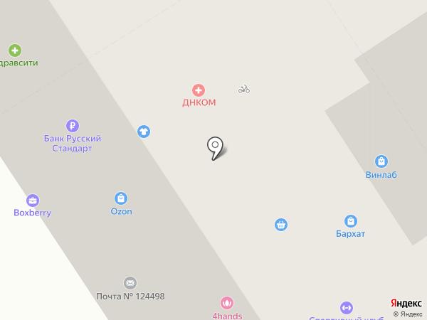Ваш Стиль на карте Москвы