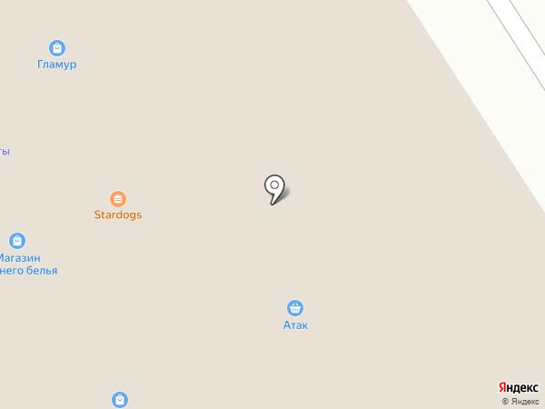 Пальма на карте Москвы