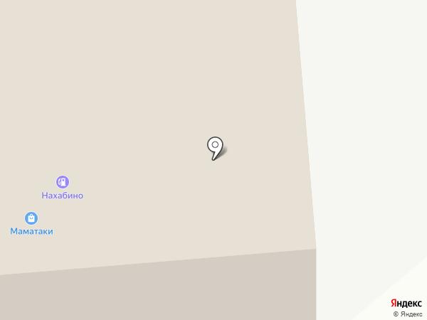 Барс на карте Нахабино